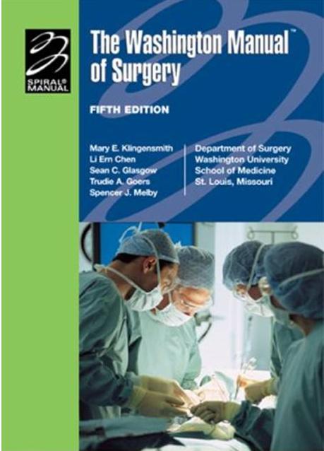 The Washington Manual of Surgery PDF Free Download