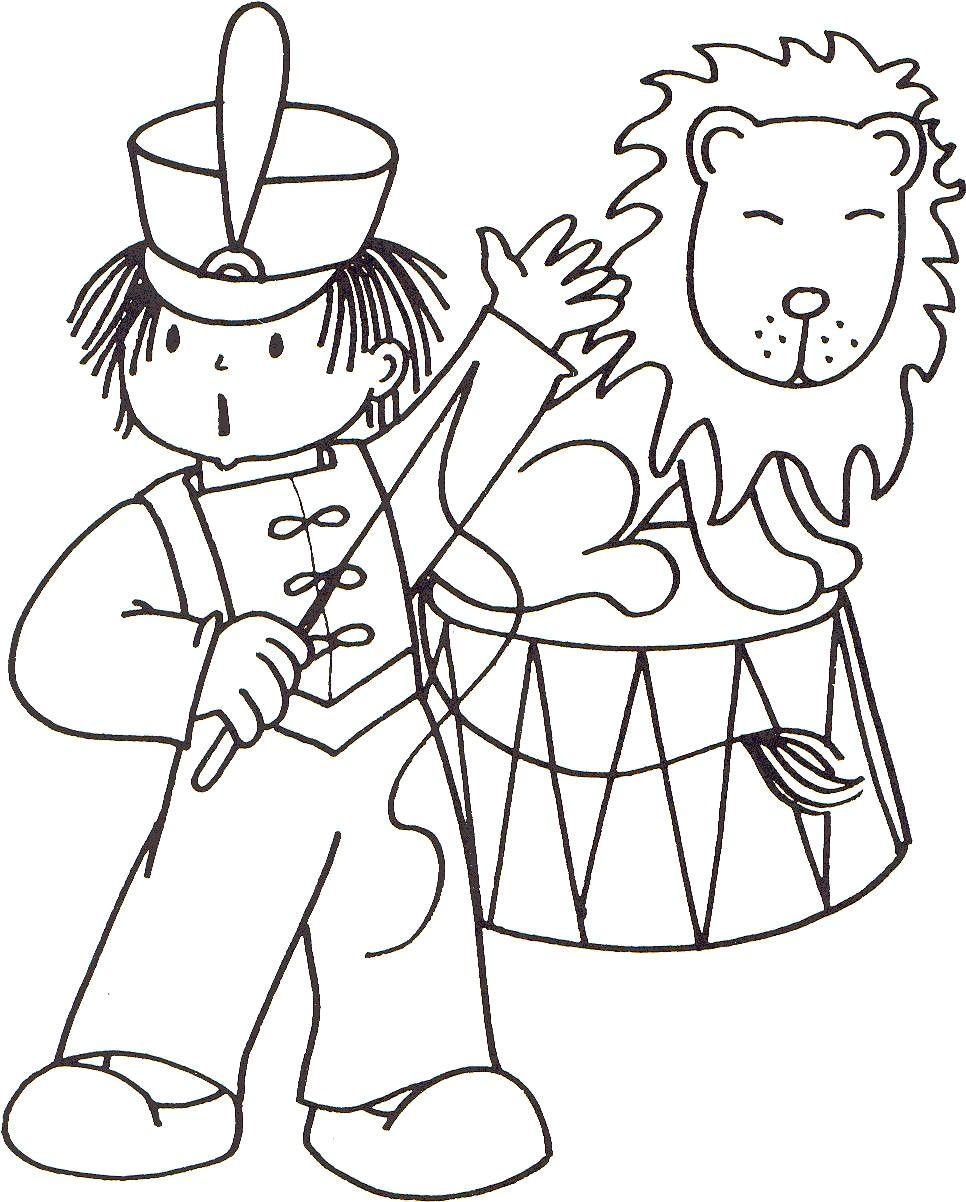 Kp Leeuwentemmer 02 Jpg 966 1 202 Pixels Mandala Kleurplaten Circus Uitnodigingen Thema