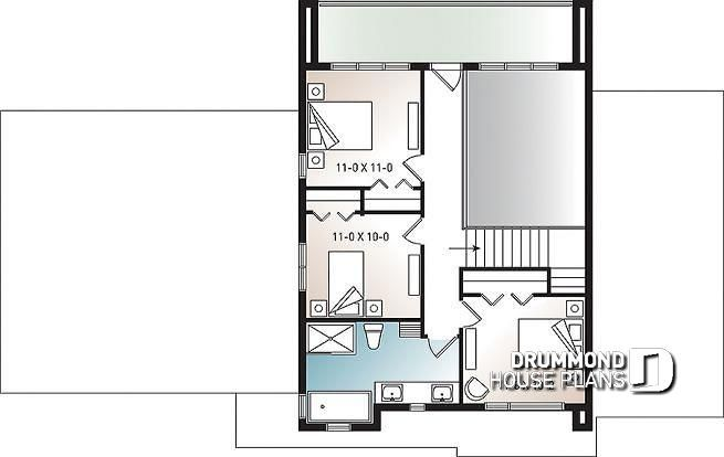 2nd level Modern Cube shaped house plan, master suite, 4 ... on double split master floor plans, two master suites plans, master bedroom with bathroom plans, master bedroom floor plans, double wide mobile home carports, ranch bunkhouse plans, heather gardens floor plans, double porch house plans, double fireplace house plans, 16x70 mobile home floor plans, double wide mobile home doors, twin mastersuite house plans, double master home plans, multi-generational homes floor plans, double master house plans, bedroom design plans, double deck house plans, bedroom suite plans, cute 2 bedroom home plans, champion mobile home floor plans,