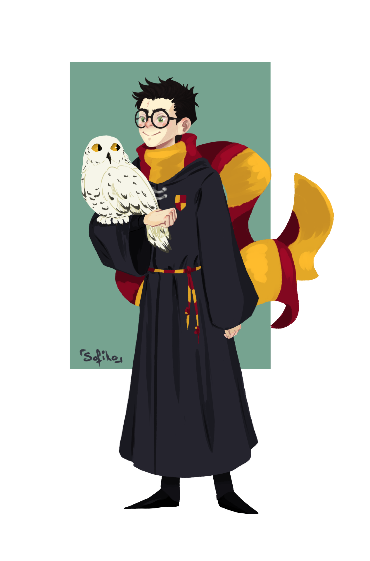 Harry Potter by sofiko-chan