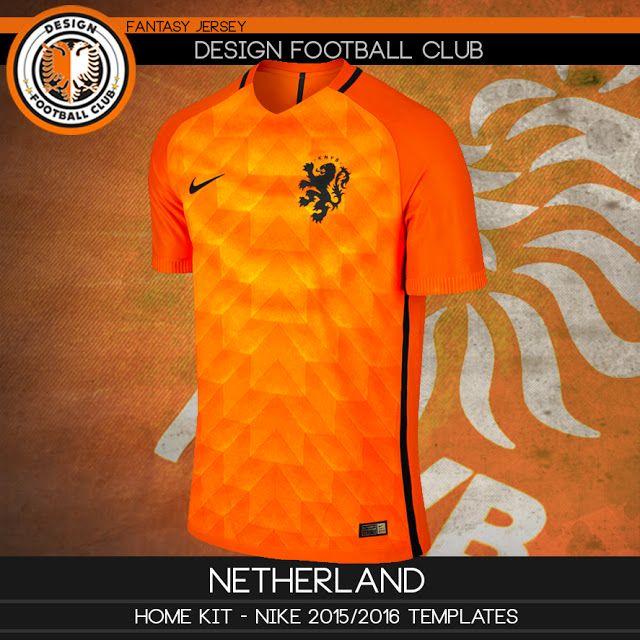 esquema triunfante Contratado  Design Football Club: Holanda - Nike 2016/2017 | Camisa de futebol, Camisa  de futebol americano, Camisetas de futebol