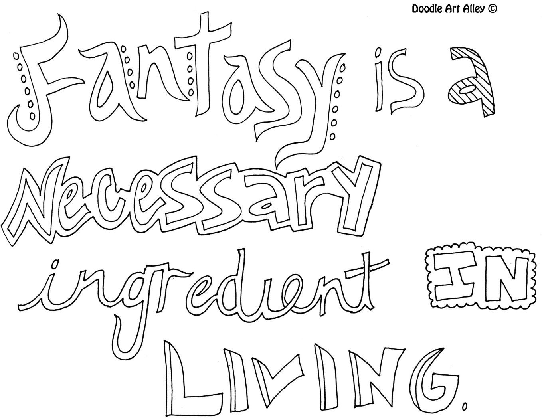 Coloring quotes printables - Fantasynecessary Jpg Quote Coloring