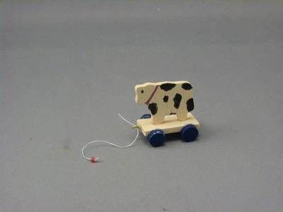 Wooden Toy on Wheels