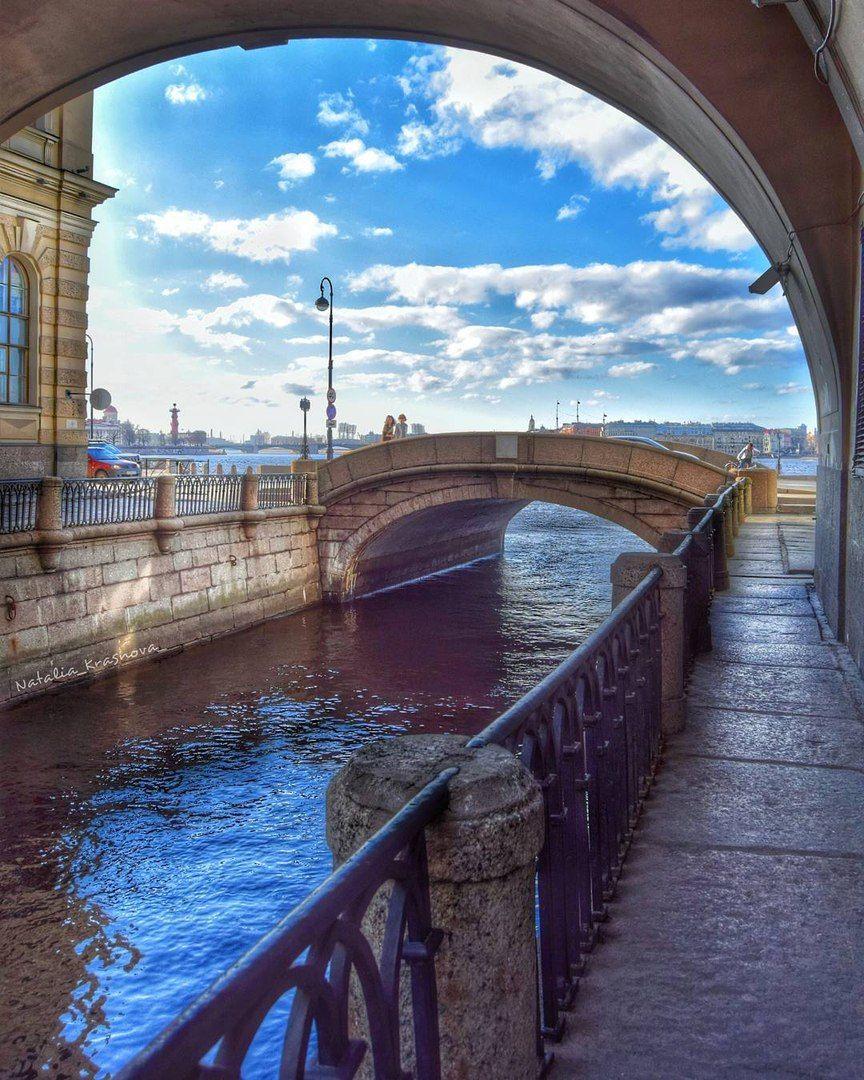 Эрмитажный мост (ранее Зимнедворцовый, Верхненабережный ...