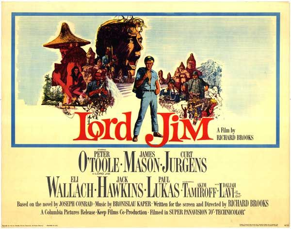 Howard Terpning's 1965 poster to 'Lord Jim' | Lord jim, Classic ...