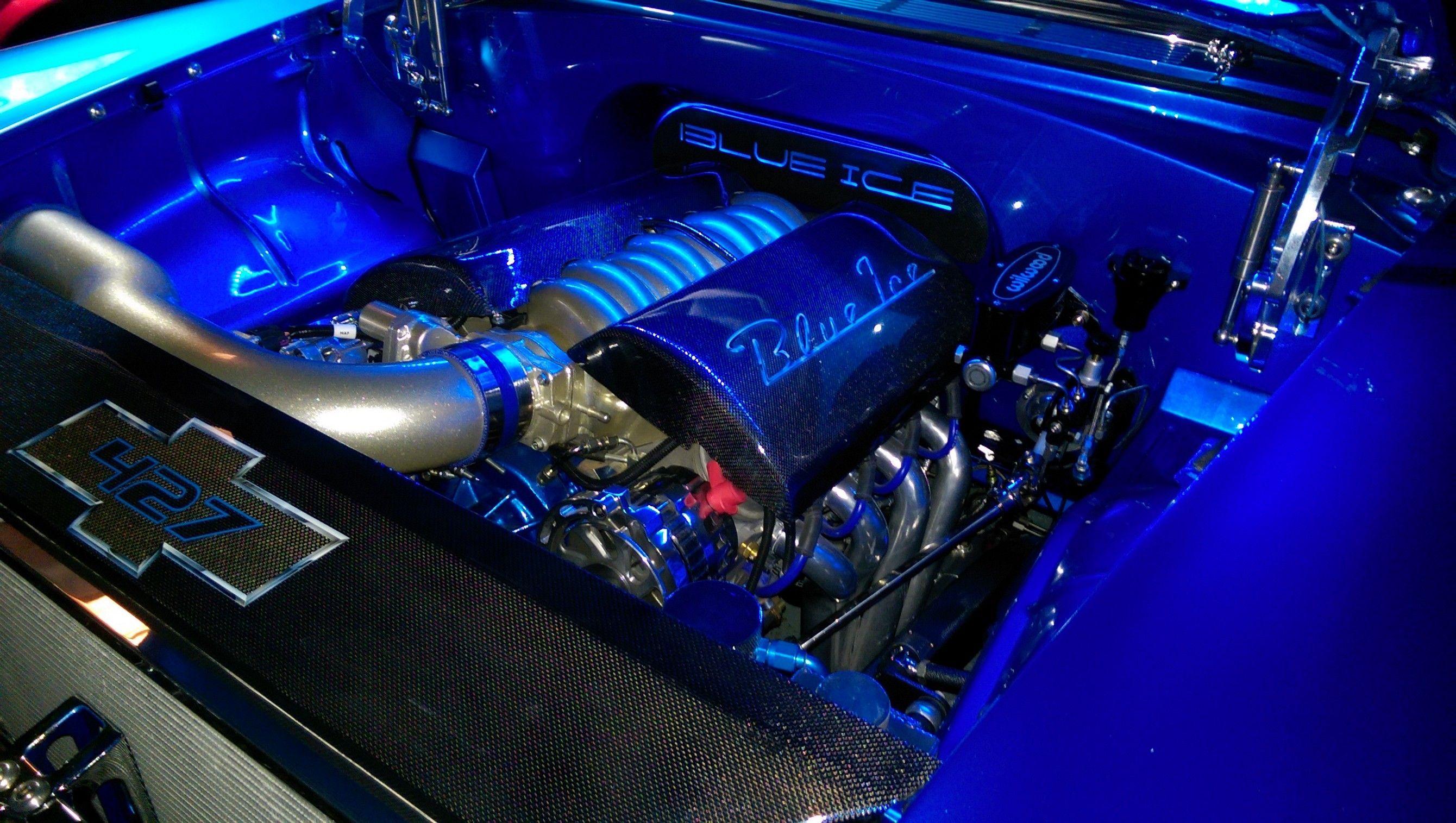 BluePrint PSLS4272CTF GM 427 LS Engine Dressed Fuel Injected