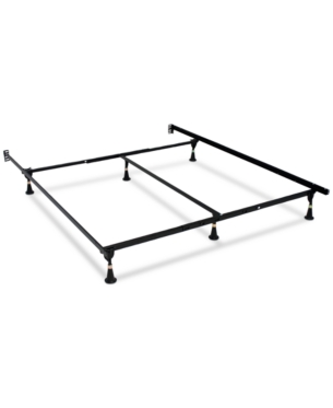 Serta Stabl Base Premium Bed Frame With Glide Quick Ship Brown