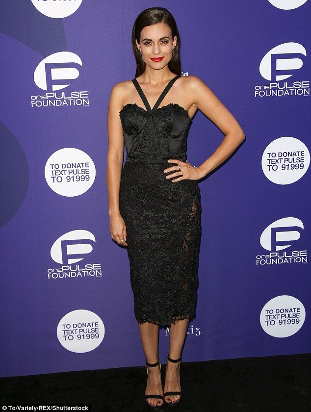 Torrey DeVitto  at onePULSE: A Benefit For Orlando.