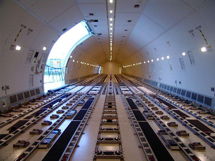Thai Cargo Boeing 747 freighter interior ǀ Air Cargo News   Cargo ...