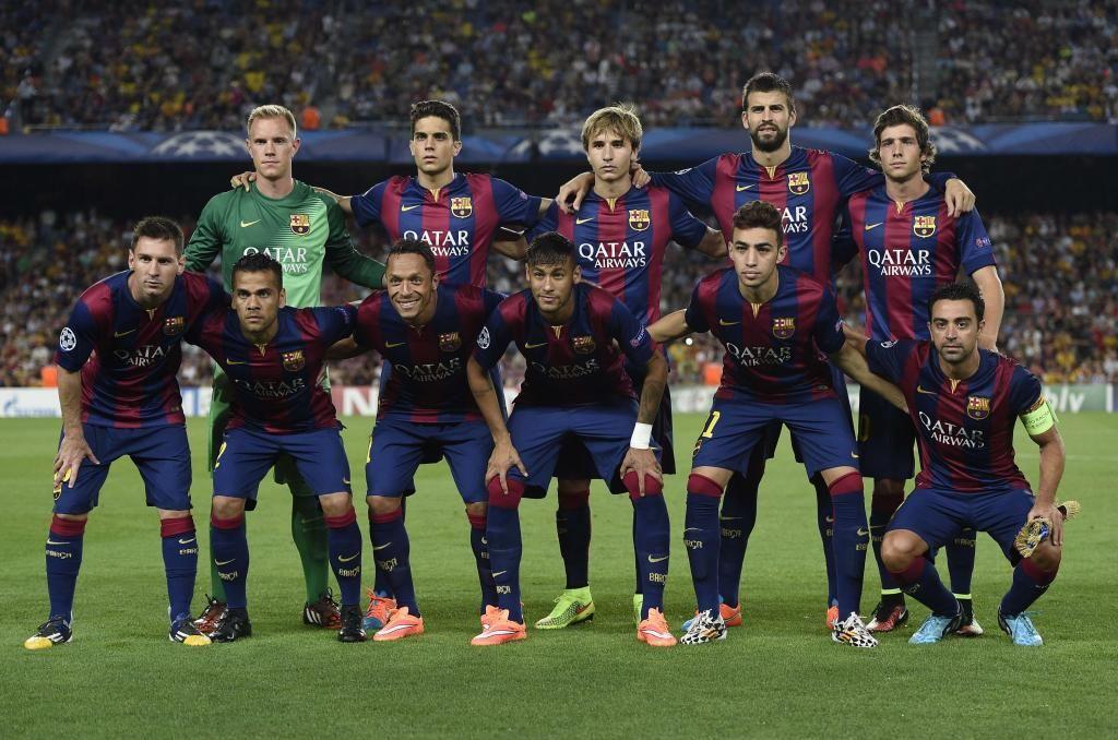Pin en fc Barcelona, football