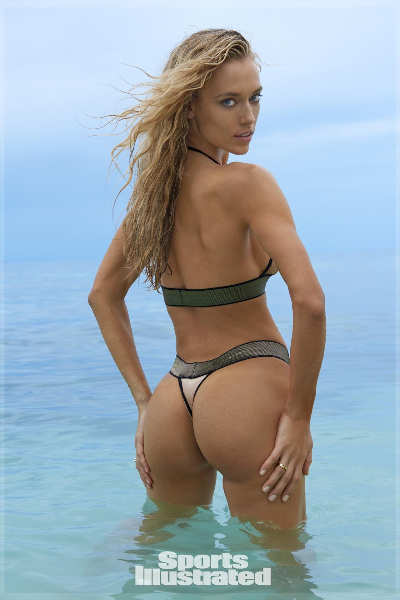 fa5fb61d158ea Hannah Ferguson was photographed by Yu Tsai in Fiji. Swimsuit by Dolcessa.  Hannah Ferguson