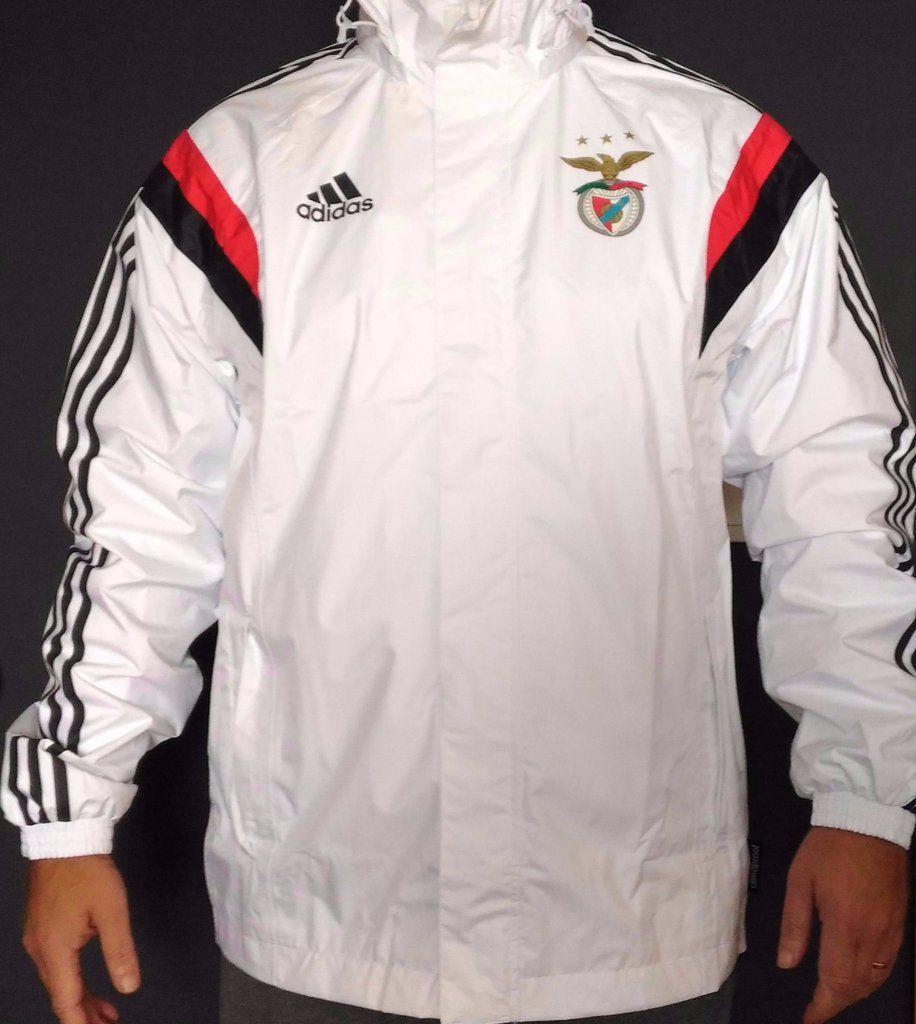 Adidas slb benfica jacket raincoat waterproof