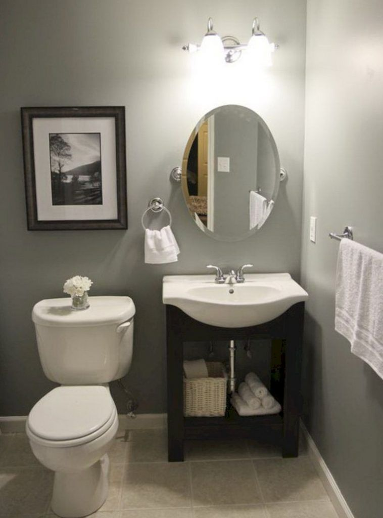 50 best small bathroom ideas on a budget bathroom - Half bath ideas on a budget ...
