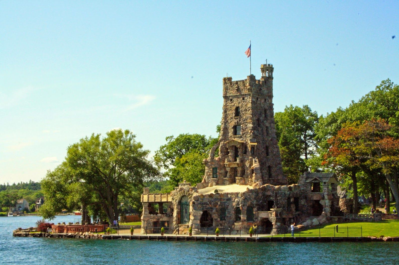 I went to Gananoque to do the 1000 Islands Boat Tour with my Mom. It is Beautiful !     http://www.jessprainstyle.com/2014/08/boldt-castle-heart-island-1000-islands.html