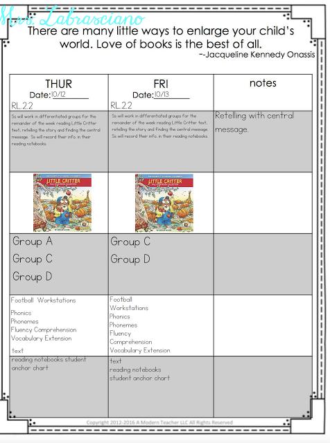 Central Message - ELA Lesson Plans #7 | 2nd Grade Lessons