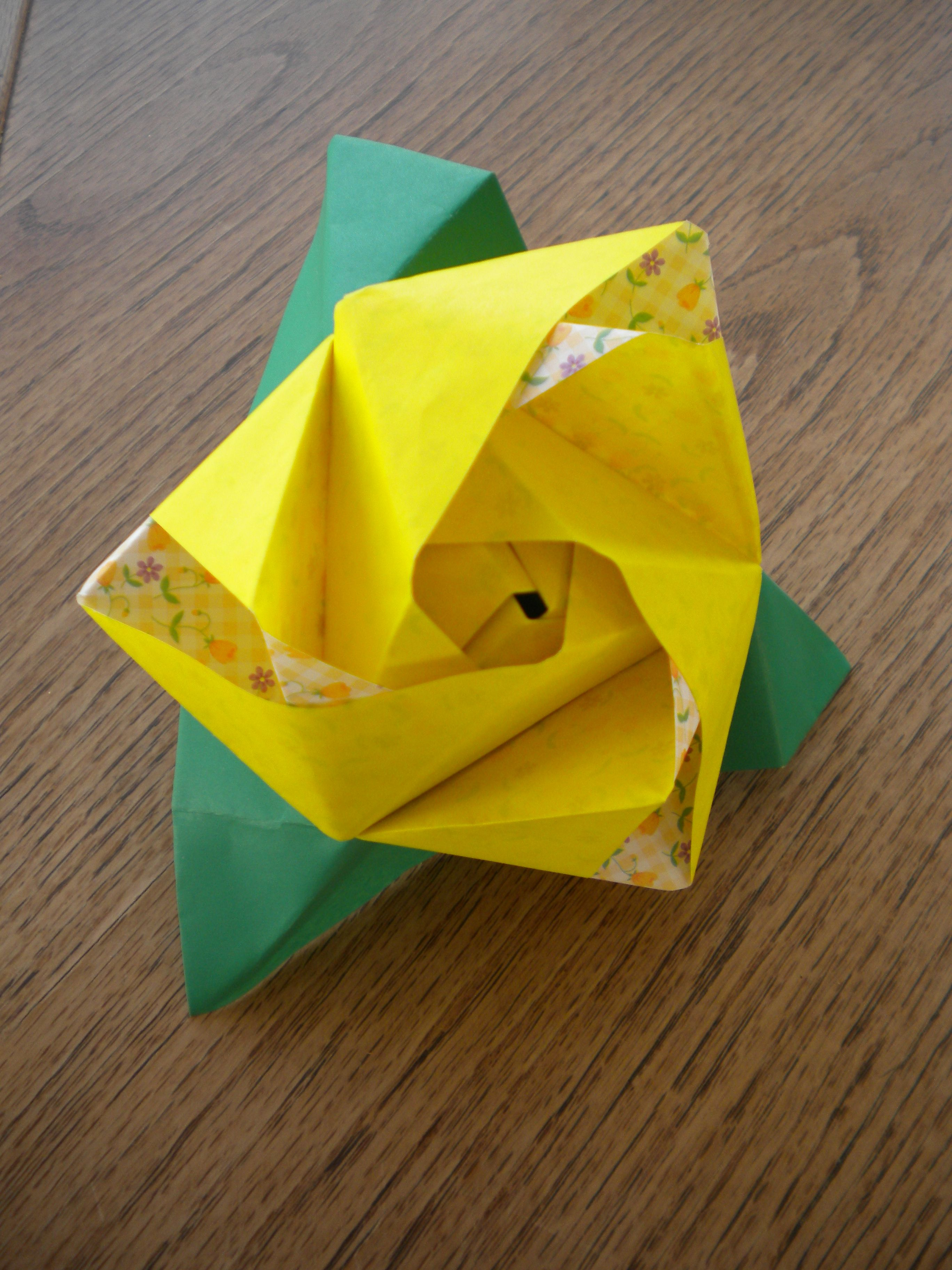 Magic Rose Cube Ms Origami Favorites Pinterest Origami And Cube