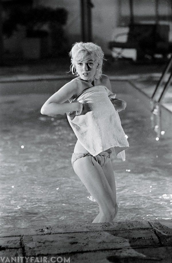 Marilyn Monroe on the set of Something's Got to Give, May 1962