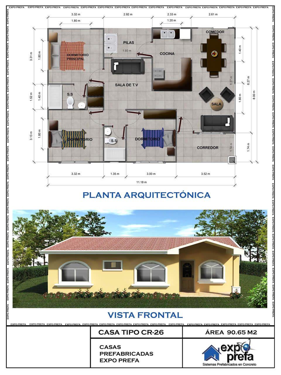 Cat logo de dise os de casas prefabricadas j pinterest casas prefabricadas casas y - Catalogo de casas prefabricadas ...