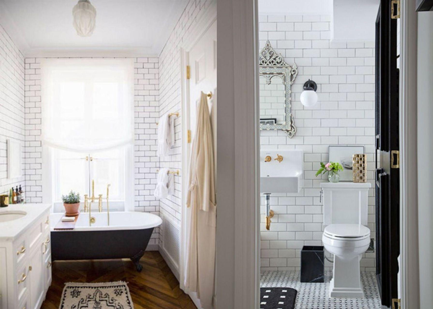 The Hidden Glamour of White Tile | White tiles, White subway tiles ...