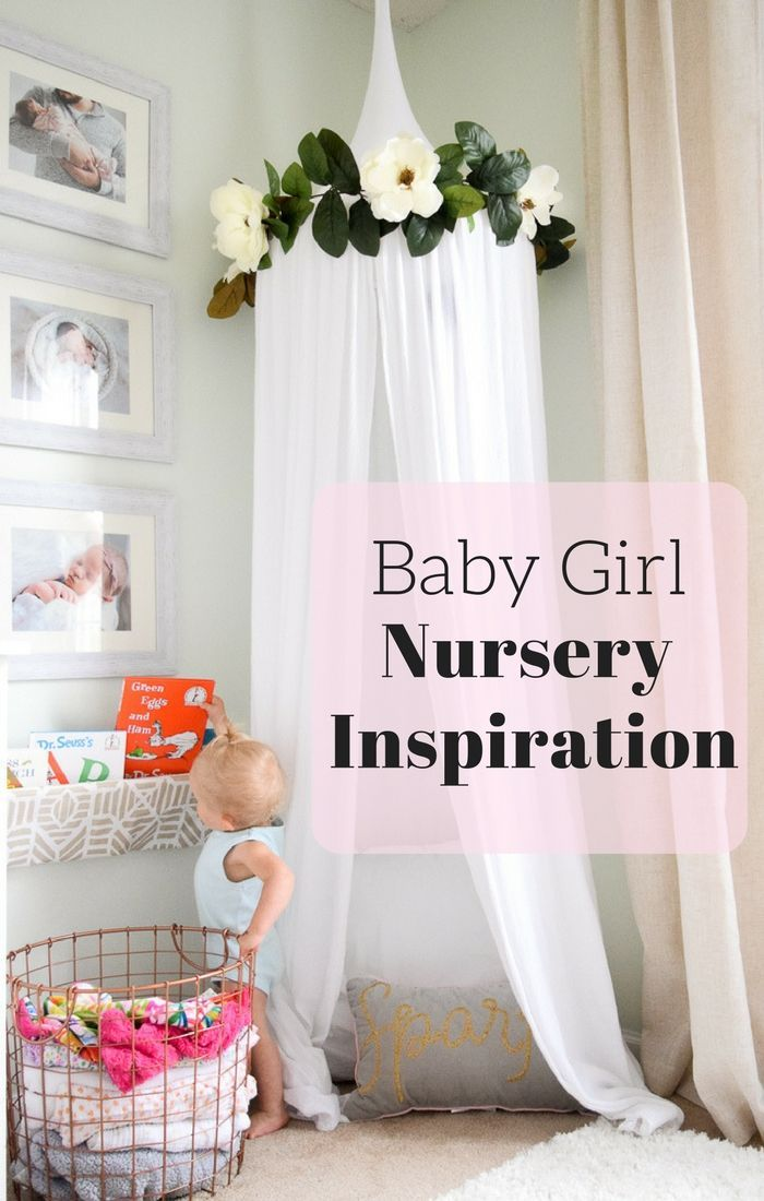 Floral Farmhouse Themed Nursery Reveal for Baby Girl | Babyzimmer