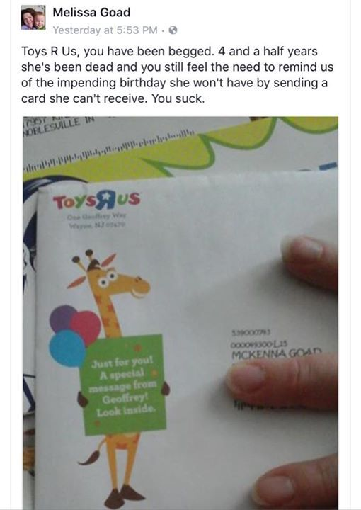 This Is Really Gross Toysrus And You Need To Make It Right