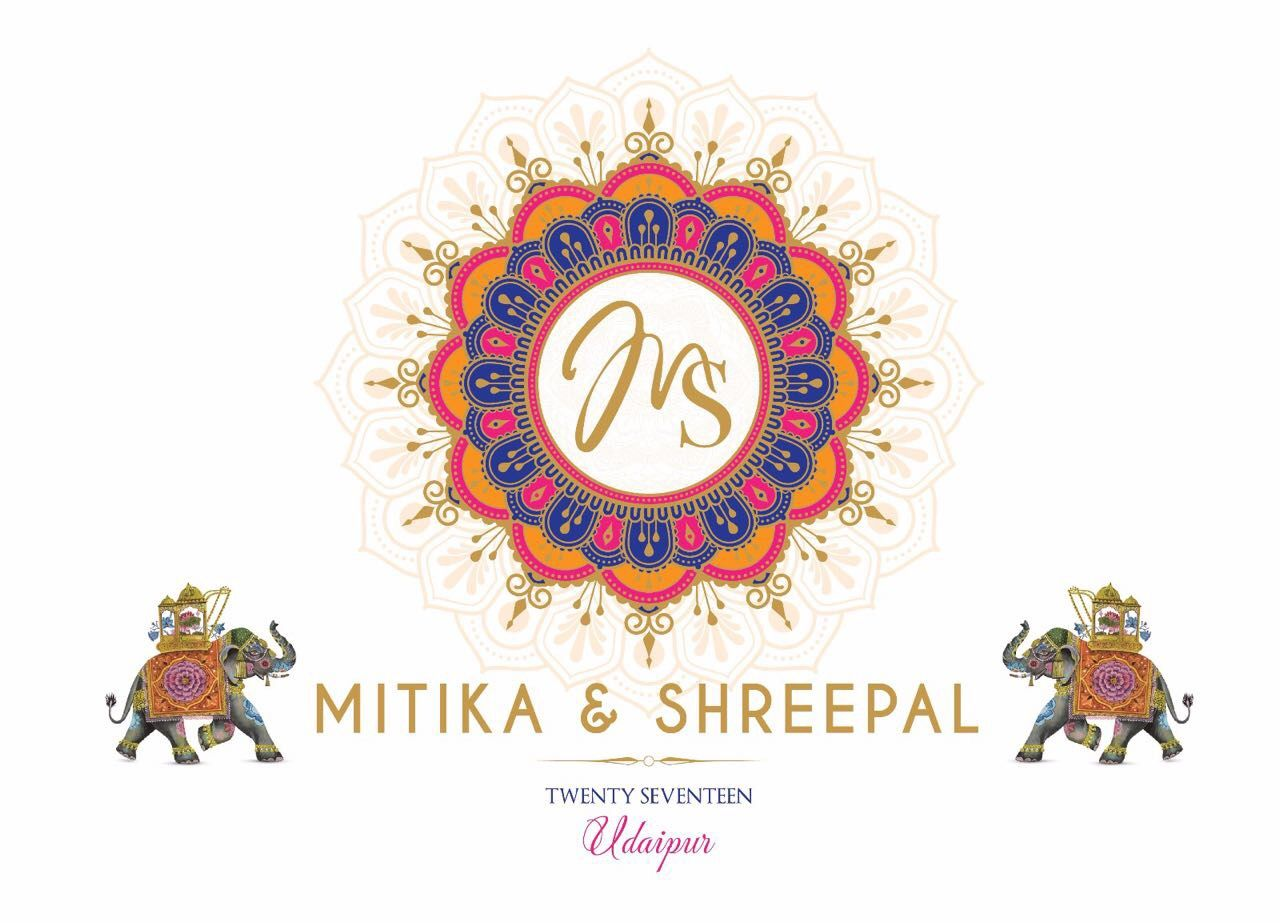 Logo Wedding Logo Monogram Wedding Invitation Cards Indian
