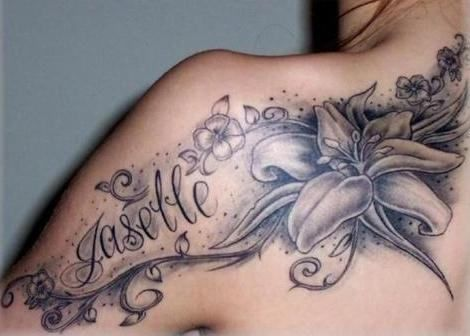 tatouage phrase épaule prénom …   tatttoo ideas   tatto…