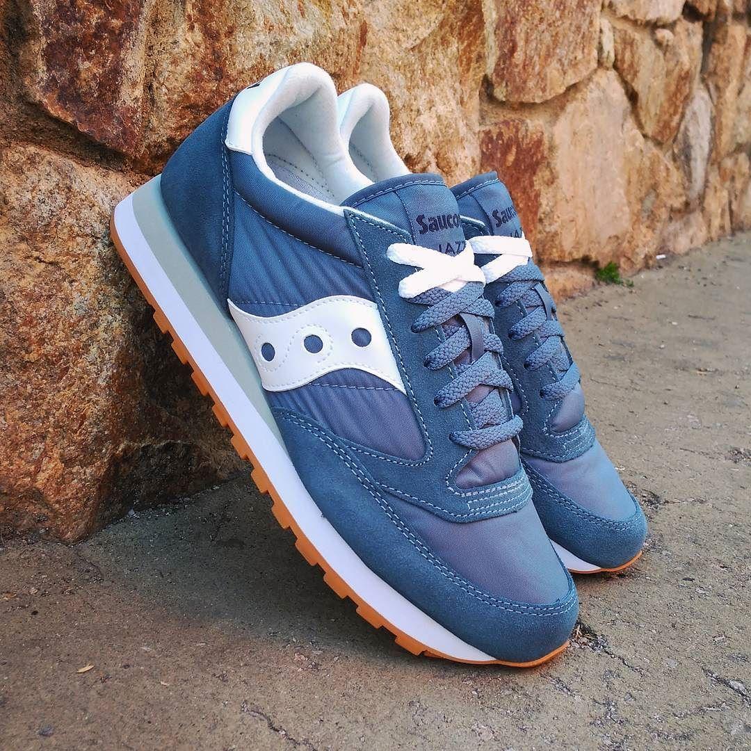 c5349d035114 Shoes Sneakers · Saucony Jazz Originals Blue White Size Man - Price  85  (Spain Envíos Gratis a