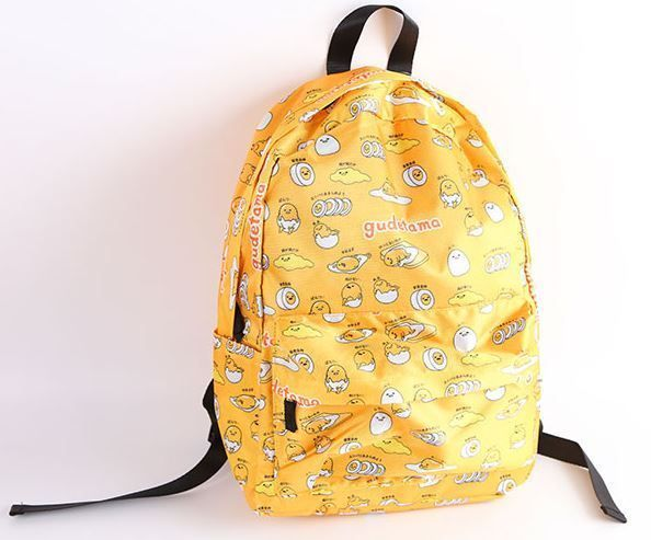 Loungefly Gudetama Eggshell Pop Up Faux Leather Backpack 10