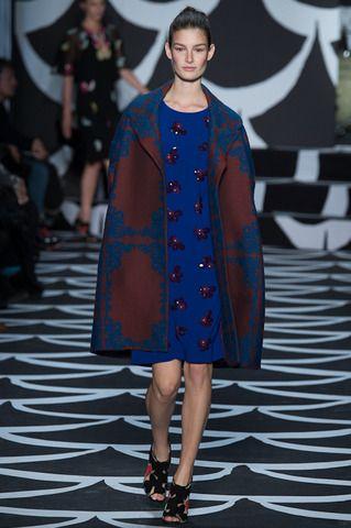 Diane von Furstenberg Fall 2014 Ready-to-Wear Collection Slideshow on Style.com