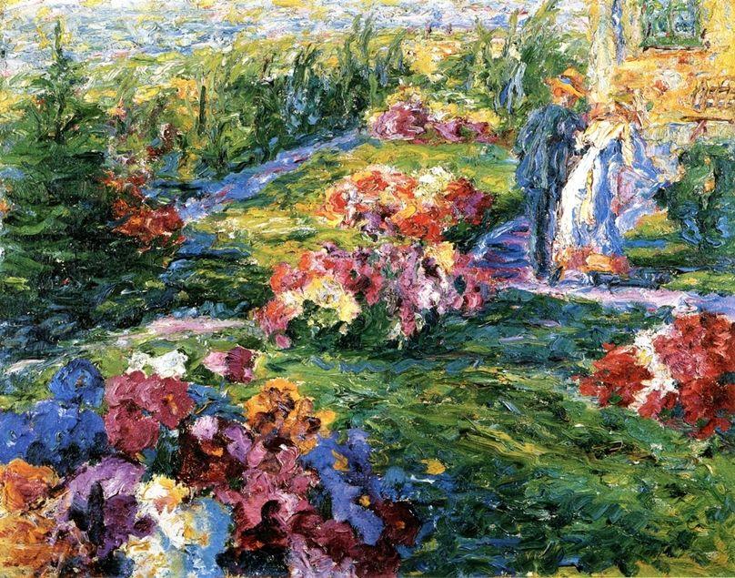Картинки по запросу Эмиля Нольде Garden Anna, 1907