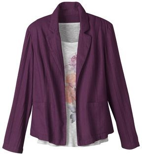 Open front blazer on shopstyle.com