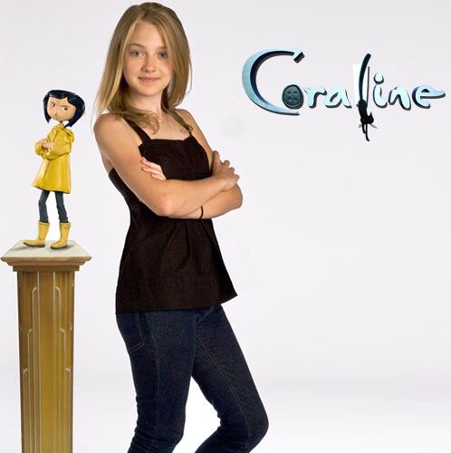 Voice Of Coraline Caroline Movie Fashion Peplum Top