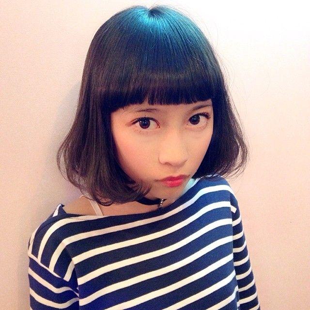 Haruka Hatakeyama On Instagram みずきちゃんがカラーしにきてくれました 今回もオレンジベージュ 春休み中はkatieにもよく立ってるみたいなのでみなさんいってあげてみてください Mii Bunny Valentine Harajuku Katie Tokyo