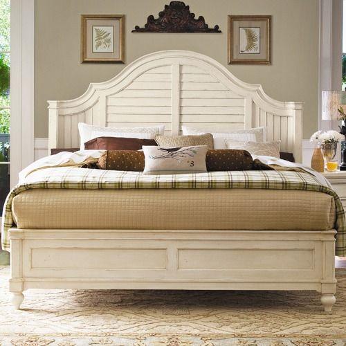Paula Deen Steel Magnolia bed in linen