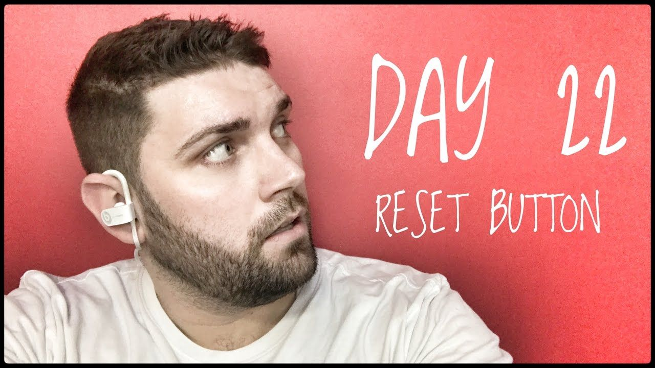 CAMBRIDGE DIET DAY 22 | RESET BUTTON
