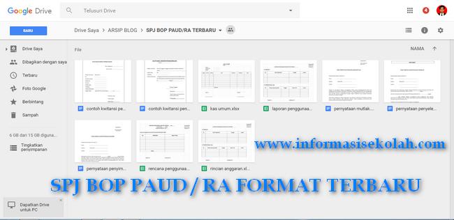 Download Spj Bop Paud Ra Format Terbaru Download Spj Bop