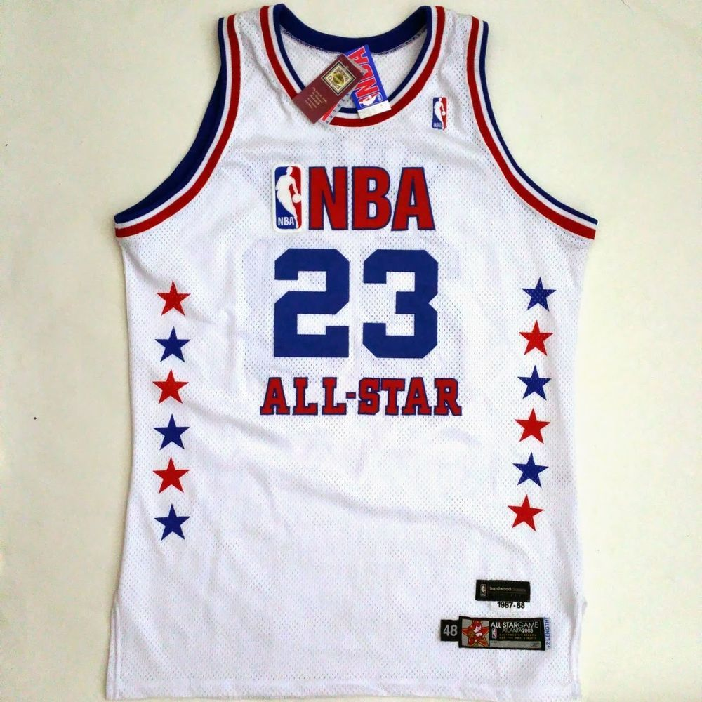 Home all star all star game 2015 comprare canotta nba all - 100 Authentic Michael Jordan Reebok 2003 All Star Game Issued Jersey Sz 48 2