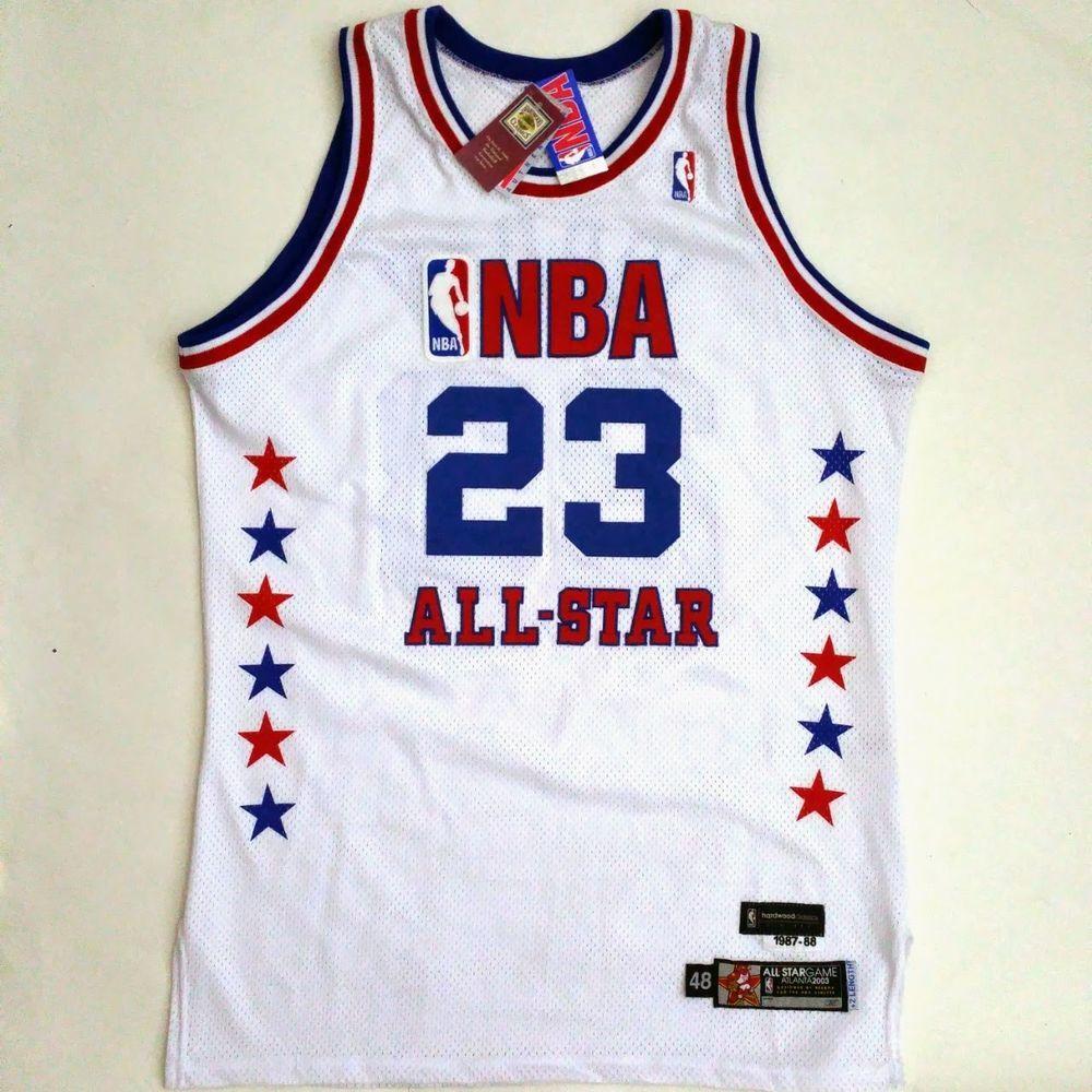 new concept 01a37 157b3 100% Authentic Michael Jordan Reebok 2003 All Star Game Pro ...