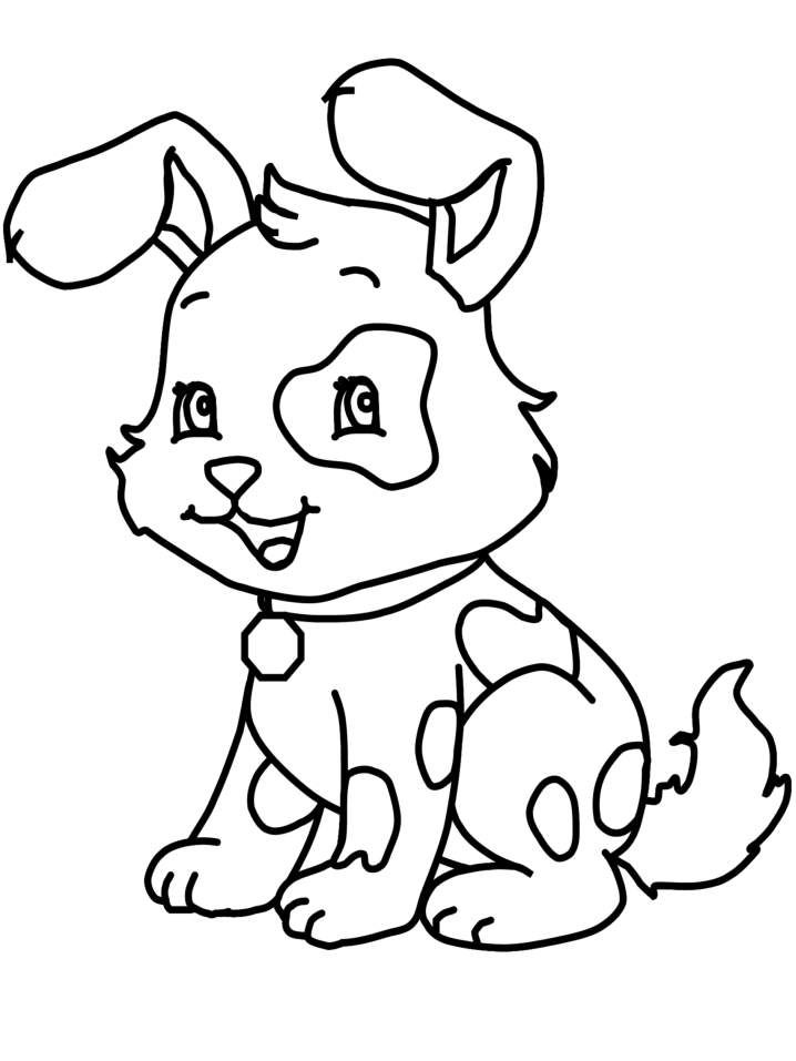 dog and puppy coloring pages az coloring pages - Puppy Coloring Pages