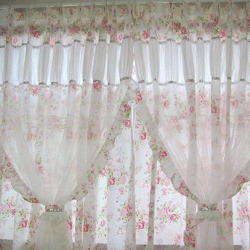 Heavenly Chic Panel Set Shabby Chic Room Shabby Chic Curtains Shabby Chic Bedding