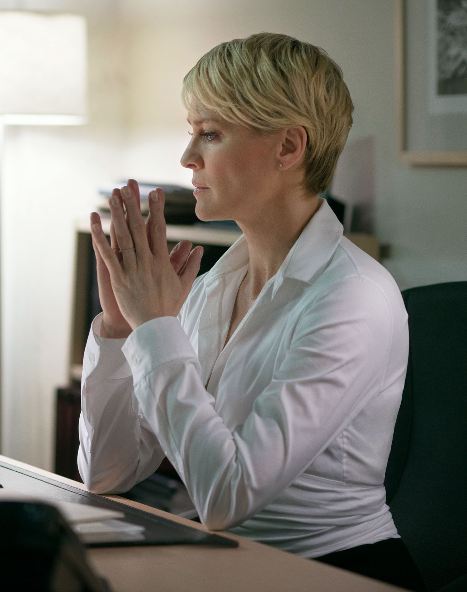 claire underwood house of cards | muse | robin wright hair