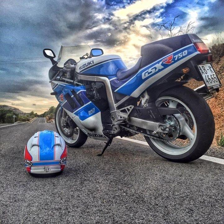 Suzuki GSX-R750 www mad4bikesuk co uk #mad4bikesuk | bikes