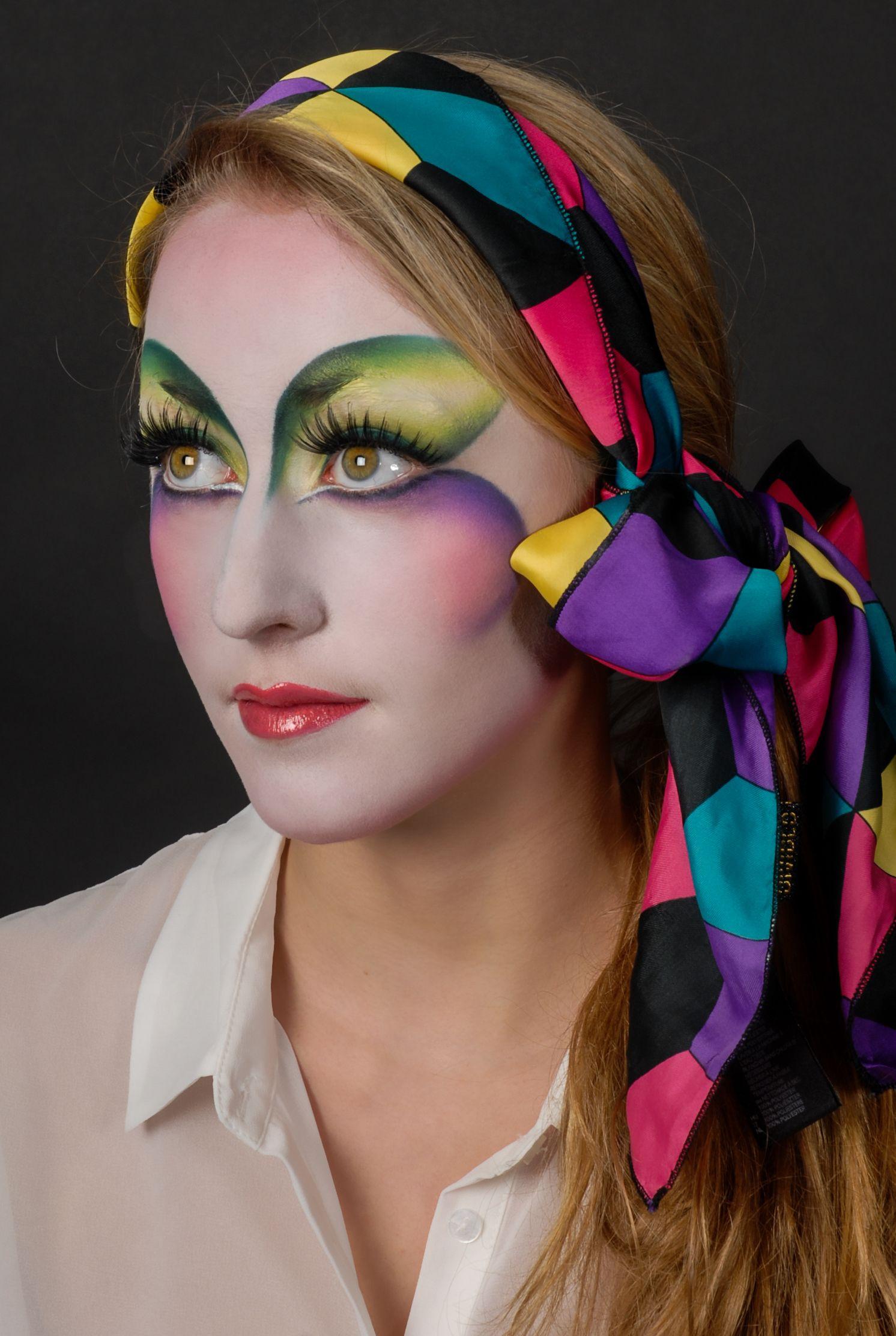 cirque du soleil makeup