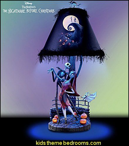 Nightmare Before Christmas Bedroom Decor Awesome The Nightmare Before Christmas Moonlight Lamp  Nightmare Before 2018