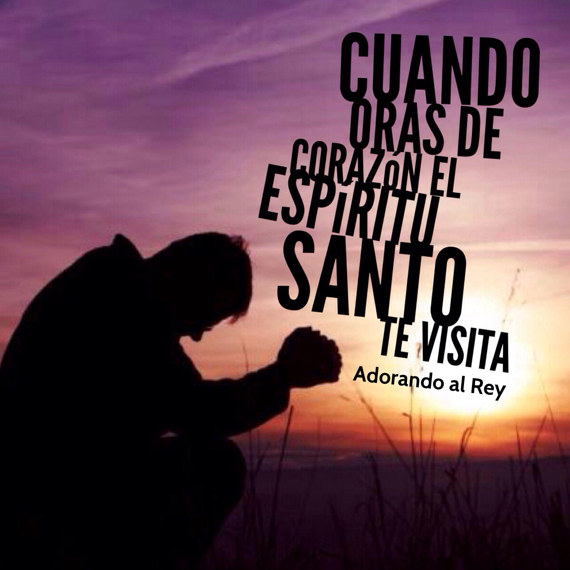 Cuando oras de corazón el Espíritu Santo te visita  #Dios #Jesus #Jesucristo #Cristo #EspirituSanto #Oracion #Fe #IntimidadConDios #Avivamiento #AdorandoalRey
