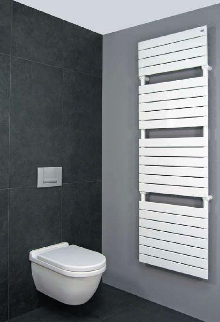 Grijstinten worden veel gebruikt in badkamers | Badkamer | Pinterest