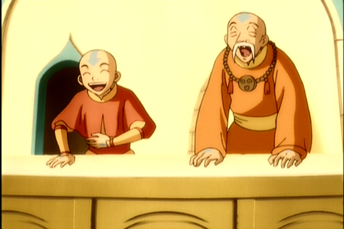 Aang and Gyatso | H.i.m, S. a, Greatest