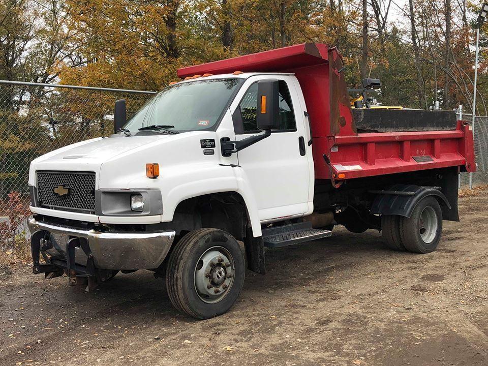2005 Chevrolet Kodiak C4500 4x4 Dump Plow Truck A C Auto Diesel Ebay Link