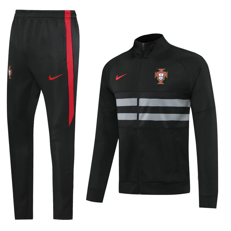 Choix Multiples LQRYJDZ Football Former Costume Portugal Club /Équipe Concours Costume Vesteswear Jacket Set Football Football Football Veste Costume